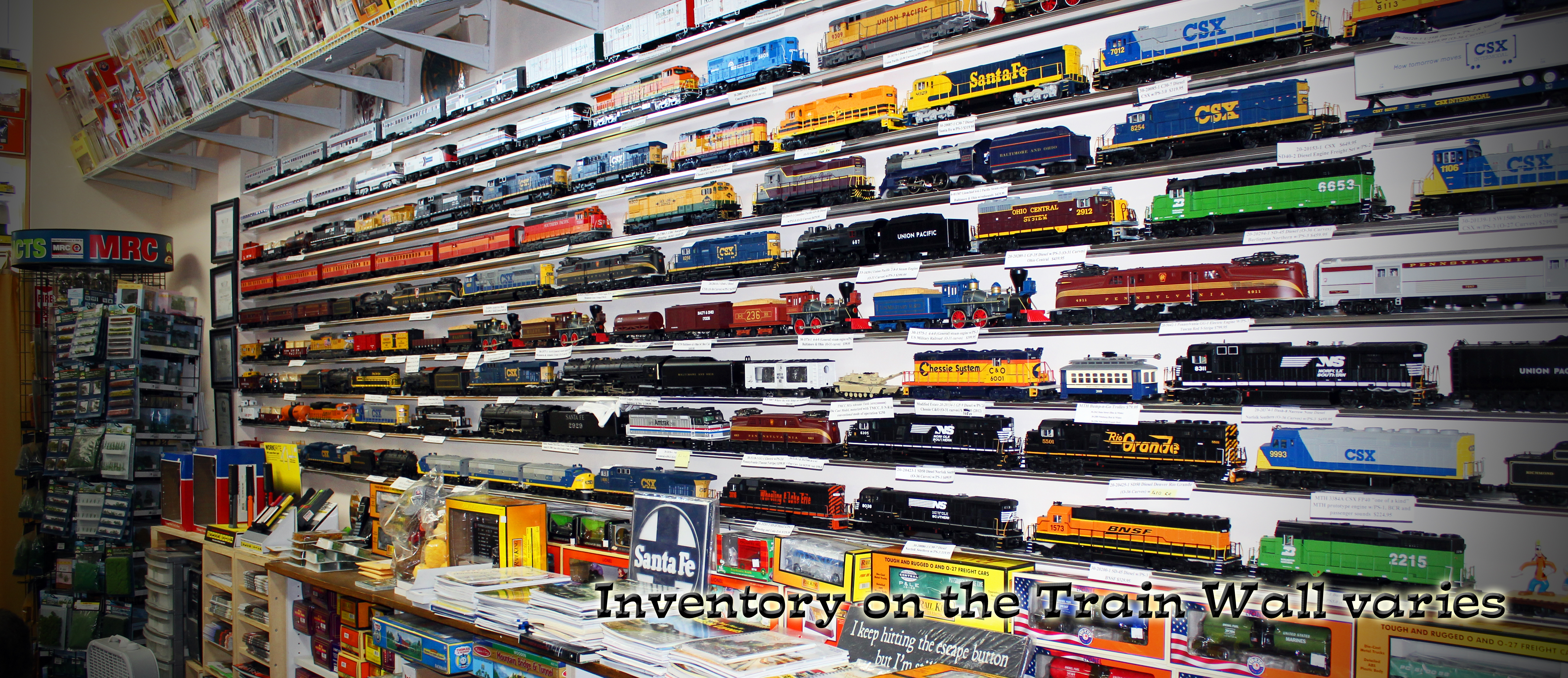 Engine House Hobbies – web site and store for Engine House Hobbies